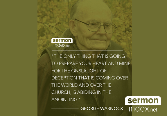 George Warnock Quote
