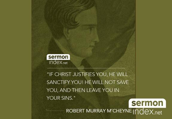 Robert Murray M'Cheyne Quote