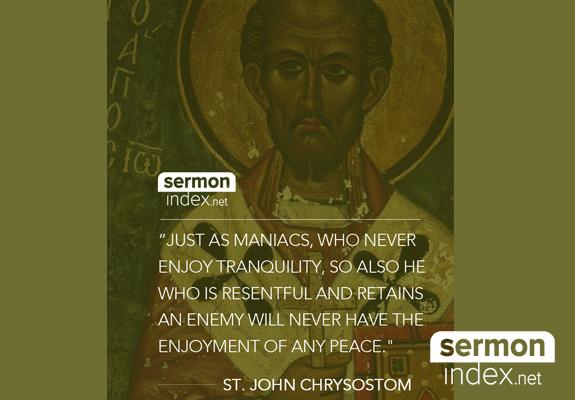 St. John Chrysostom Quote