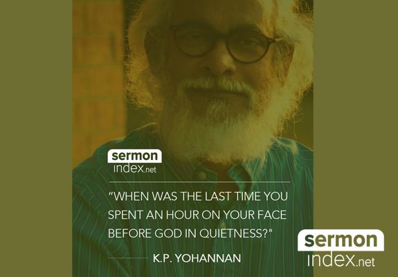 K.P. Yohannan Quote