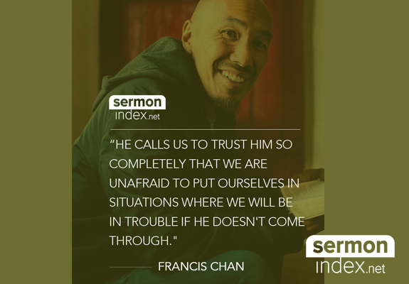 Francis Chan Quote