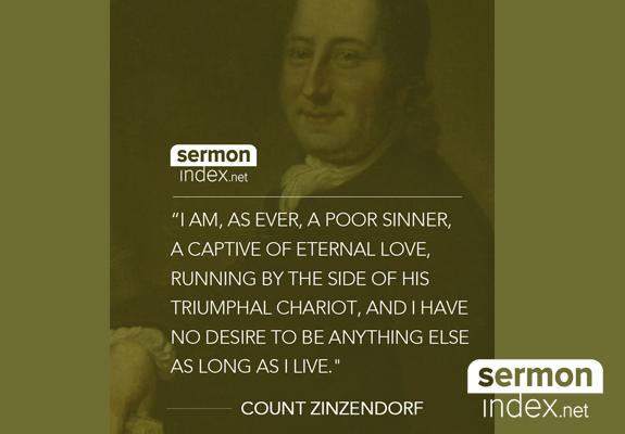 Count Zinzendorf Quote
