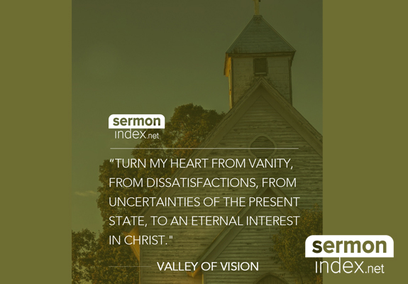 Valley of Vision Quote
