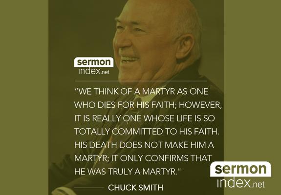 Chuck Smith Quote