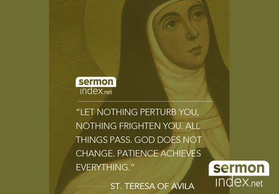 St. Teresa of Avila Quote