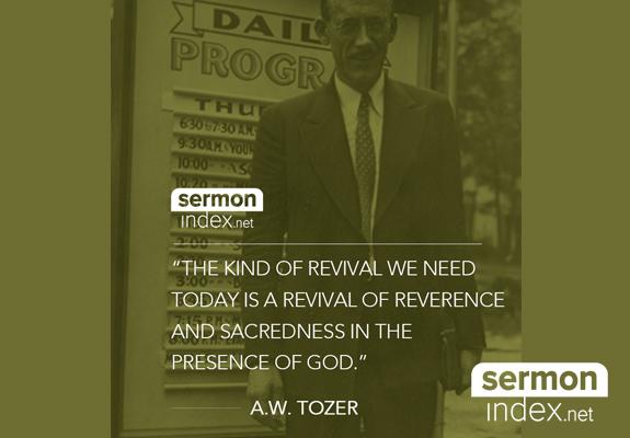 A.W. Tozer Quote