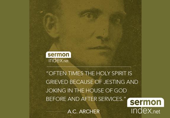 A.C. Archer Quote