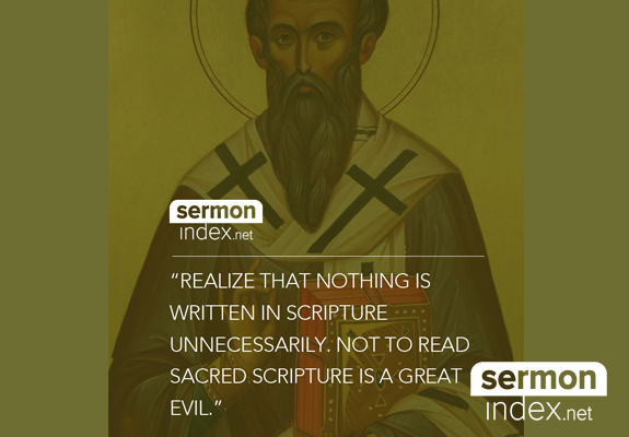 St. Basil Quote