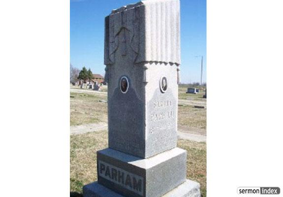 Parham Tombstone