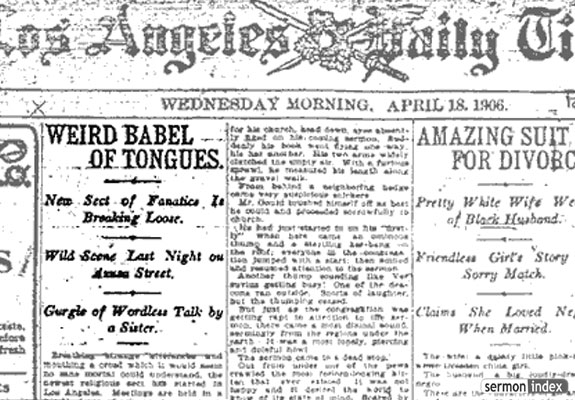 The April 18, 1906, issue of the Loas Angeles Times