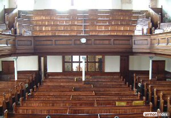 Inside Moriah Chapel