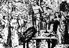 William Tyndale being Burned Alive