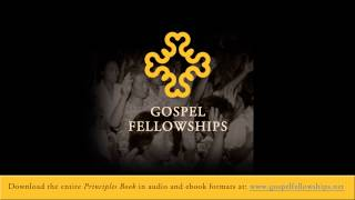 (Principles Book) 37 Principle 33 The Obedience of Believers Baptism