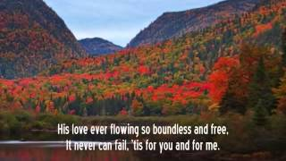 Mennonite Hymn: His Love Cannot Fail