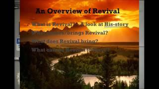 Maintaining the Springs of Revival by Merle Weaver