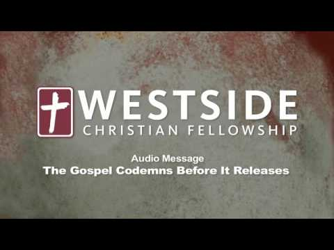 The Gospel Condemns Before It Releases by Shane Idleman