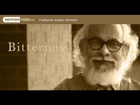 Audio Sermon: Bitterness by K.P. Yohannan