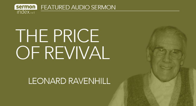 The Price of Revival by Leonard Ravenhill